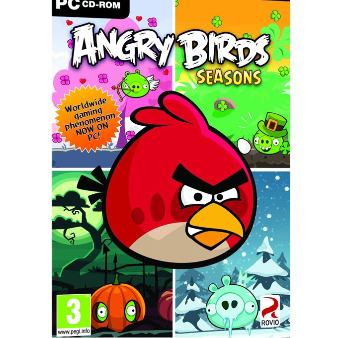 Игра Angry Birds Seasons, за PC image