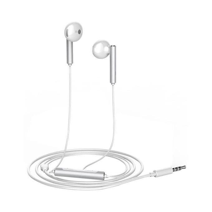 Слушалки Huawei AM116, микрофон, оригинални, сребрист image