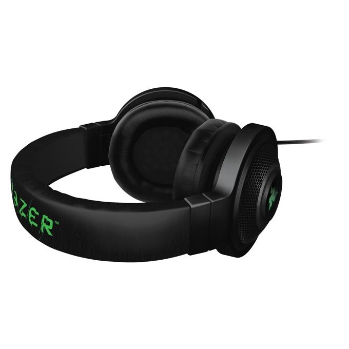 Слушалки Razer Kraken 7.1, черни, микрофон, USB image