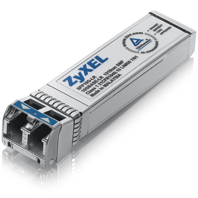 Мрежови SFP модул ZyXEL SFP10G-LR, 10G SFP+, 1310nm, дълъг обхват (10km), LC конектор image