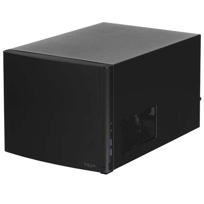 Кутия Fractal Design NODE 304, Mini ITX, 2x USB 3.0, черна, без захранване image