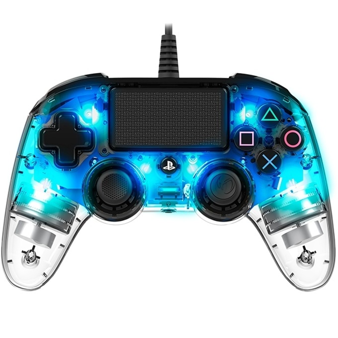 Nacon PS4 - Wired Illuminated crystal blue product