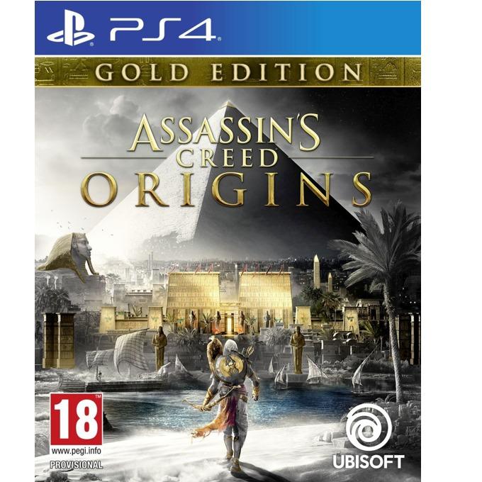 Игра за конзола Assassins Creed Origins Gold Edition, за PS4 image