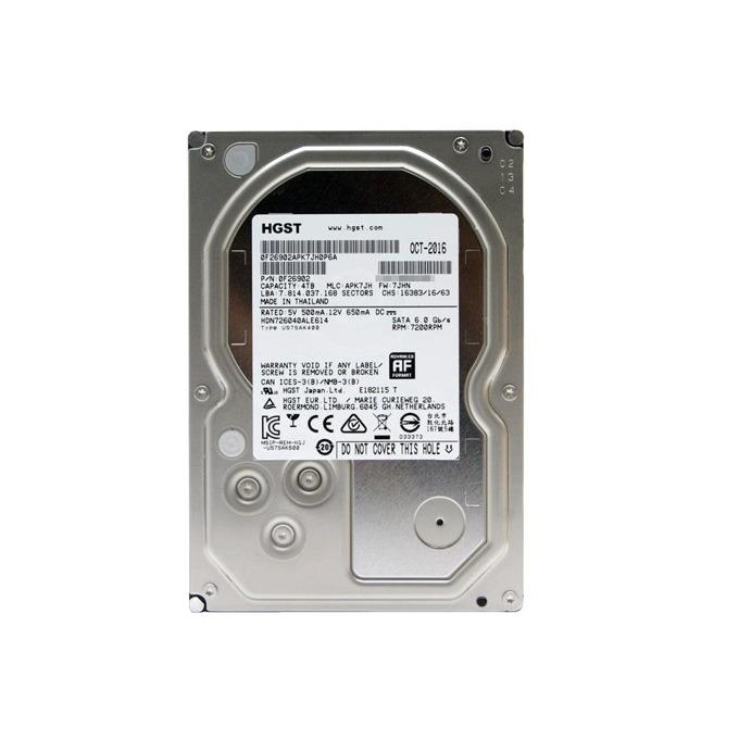 "Твърд диск 4TB HGST Deskstar NAS HDN726040ALE614, SATA 6Gb/s, 7 200 rpm, 128MB кеш, 3.5"" (8.89 cm) image"