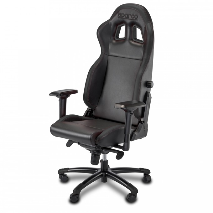 Геймърски стол Sparco GRIP Black, черeн image