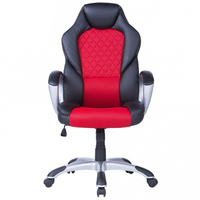 Геймърски стол Viking, люлеещ се механизъм, еко кожа, черен image