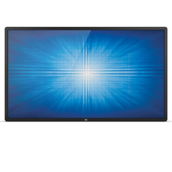 "Интерактивен дисплей ELO ET5551L-9UWA-0-MT-GY-G, 54.6""(138.6 cm), 4K UHD, Infrared multi touch, HDMI, DisplayPort, RS232, LAN, черен image"