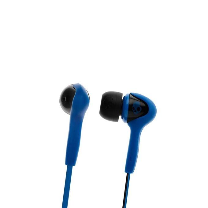 Cлушалки Skullcandy Smokin Buds, синьо-черни, микрофон image