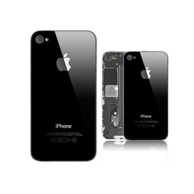 Заден капак за Apple iPhone 4, черен