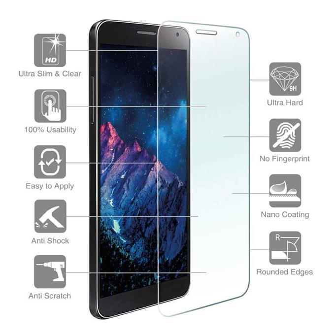 Протектор от закалено стъкло /Tempered Glass/, 4smarts, за LG Stylus 3 (смартфон) image