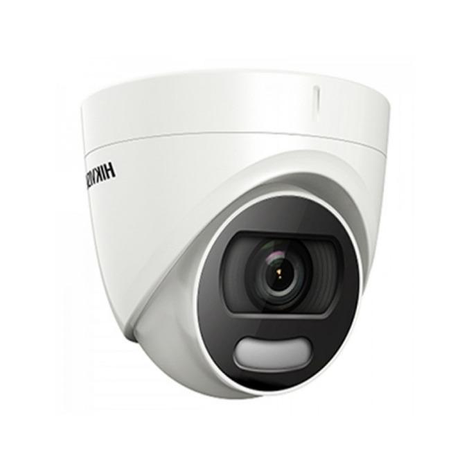 HDCVI камера Hikvision DS-2CE72DFT-F, куполна камера, 2MP (1920x1080@25fps), 3.6 mm, IR осветление (до 20m), IP67 image
