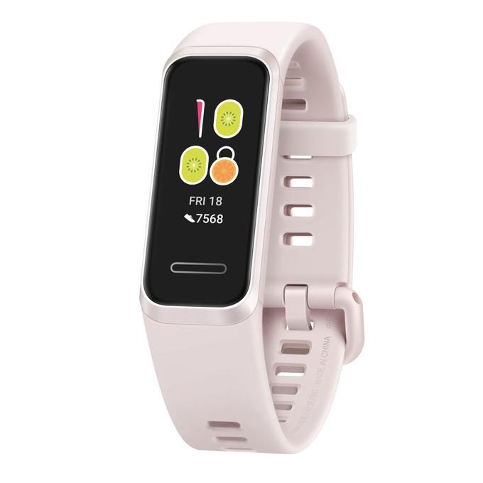 """Смарт гривна Huawei Band 4, 0.96"""" (2.43 cm) TFT дисплей, 4GB памет, Bluetooth, водоустойчив, известия обаждания и съобщения, розова image"""