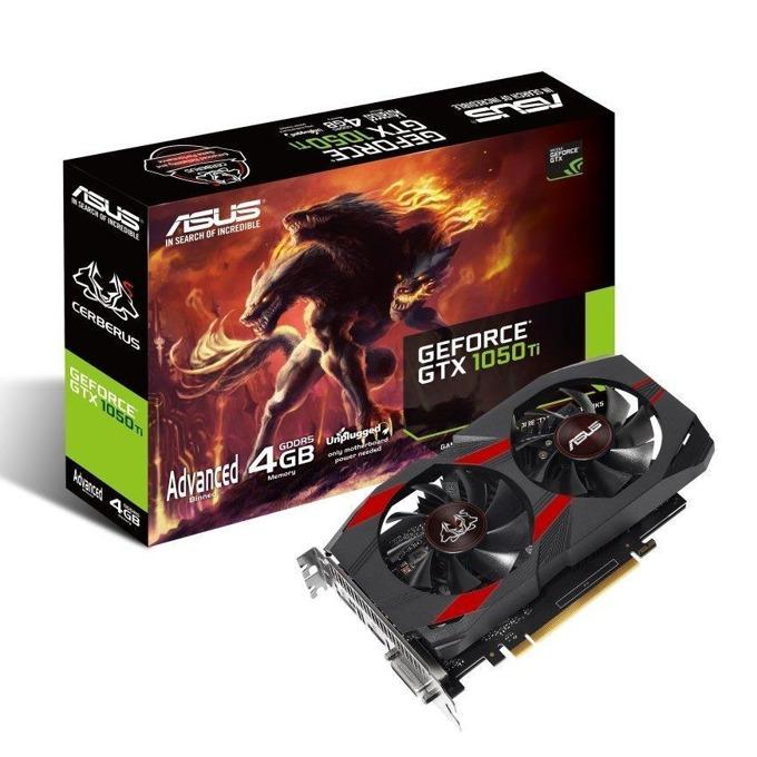 ASUS CerberusGeForceGTX1050Ti Advanced Edition 4GB
