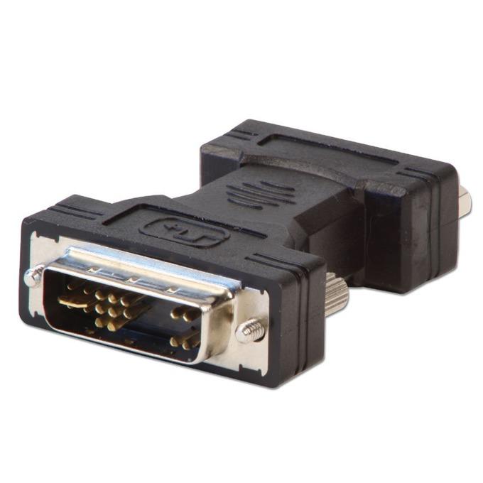 Преходник Lindy LNY-71244, от DVI(м) към VGA(ж), черен image