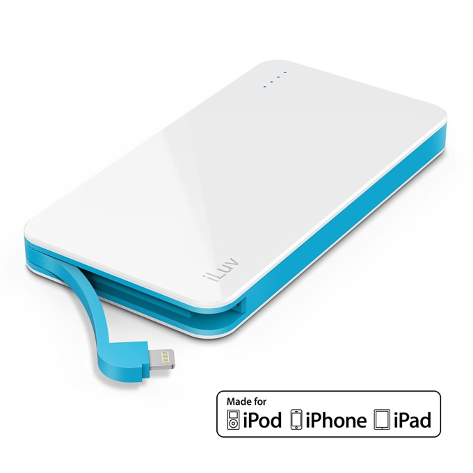 Външна батерия /power bank/ iLuv myPower 50L 5000 mAh, бял image