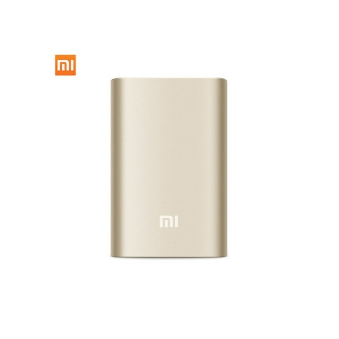 Външна батерия/power bank/ Xiaomi Power Bank VXN4097CN, 10 000 mAh, On/Off бутон, USB micro Type B, златиста image