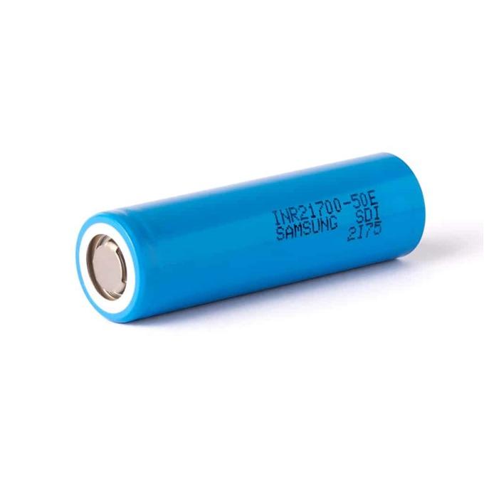 Акумулаторна батерия Samsung INR21700-50E, 5000mAh, Li-Ion, 3.7V, за електронна цигара image