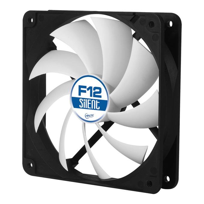 Вентилатор 120mm, Arctic Fan F12 Silent, 3-пинов, 800rpm image