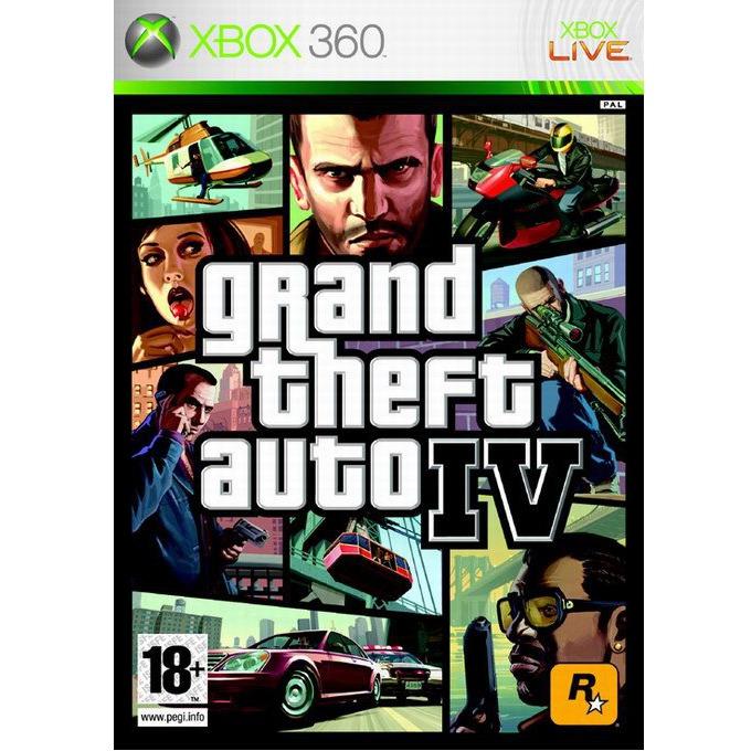 Игра за конзола Grand Theft Auto IV, за XBOX360 image