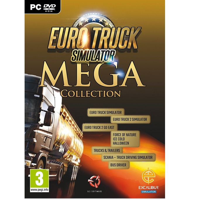 Eurotruck Simulator Mega Collection, за PC image