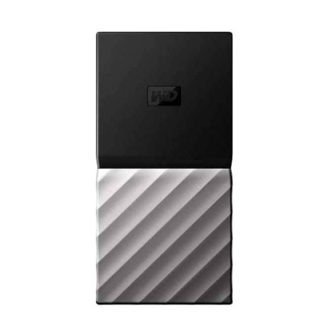 """Твърд диск 512GB Western Digital MyPassport(сребрист), външен, 3.5"""", USB-C image"""