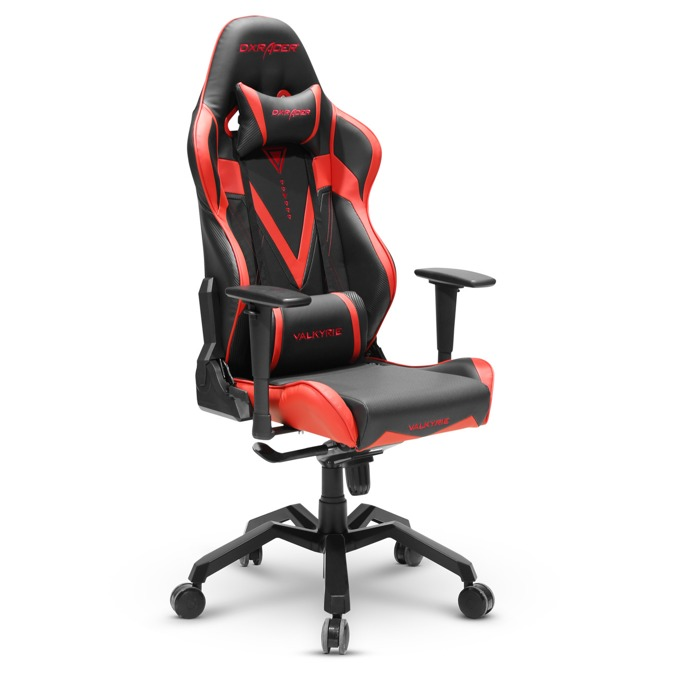 Геймърски стол DXRacer VALKYRIE OH/VB03/NR, черен/червен image