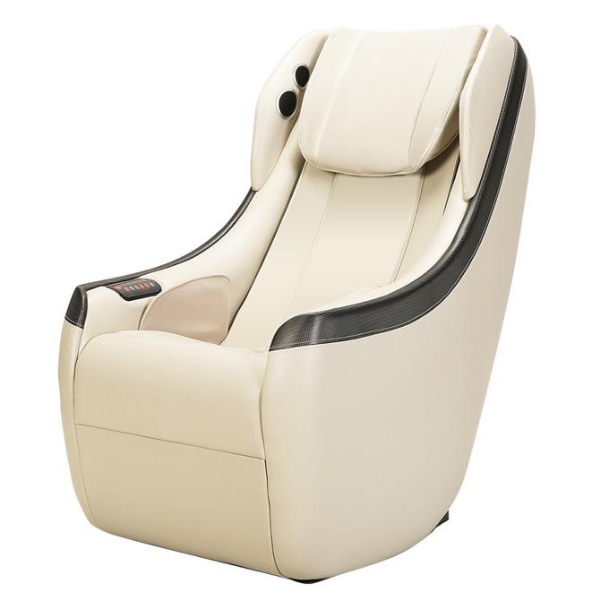 Масажен стол Rexton LT328A-I, Bluetooth, ролков безшумен механизъм, многофункционален пулт за управление, говорители, еко кожа, бежов image