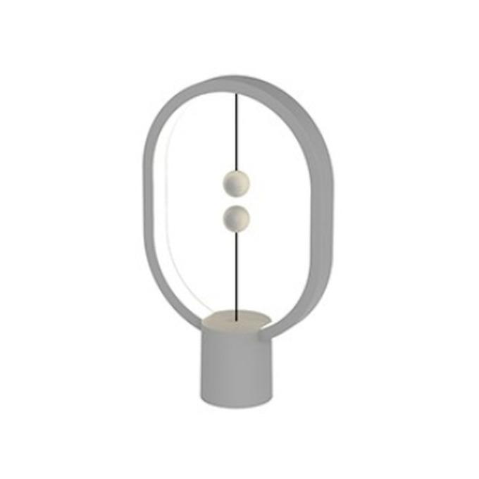LED настолна лампа Allocacoc HENG Balance Lamp Mini DH0098DG, 3W, 5V, 175 lm, USB-C, 1м. кабел, светло сив image