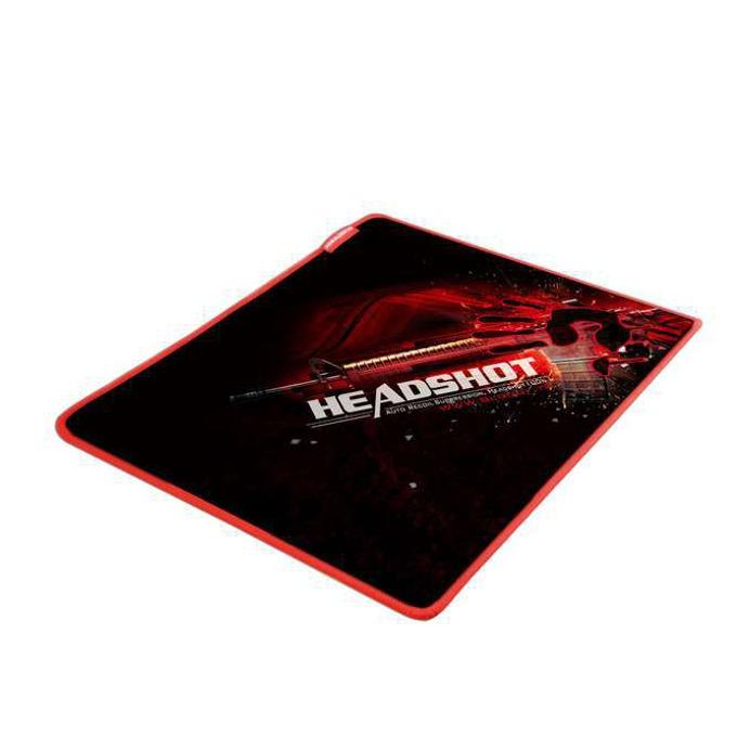 Подложка за мишка A4TECH Bloody B-070, гейминг, гумирано покритие, черна с червена щампа, 430 x 350 x 4mm  image