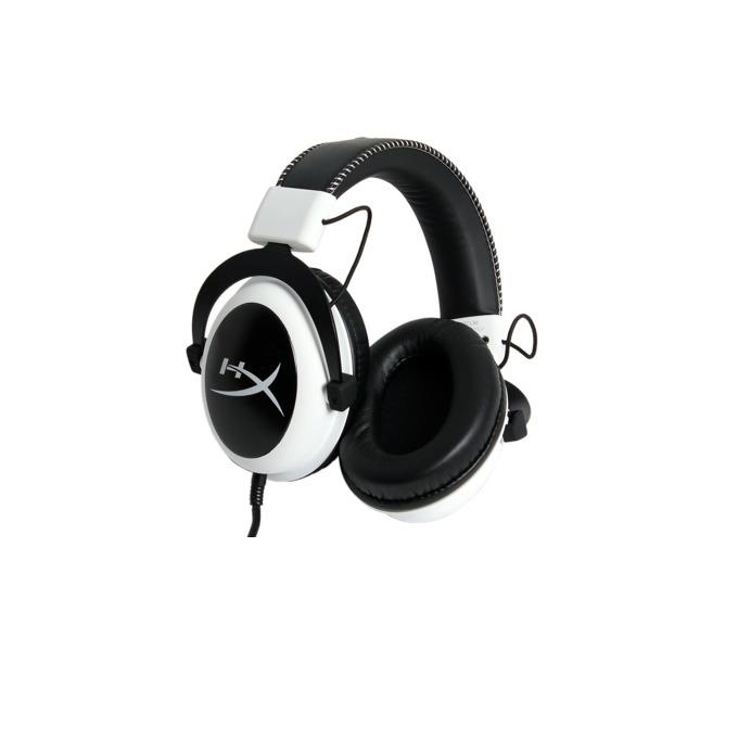 Слушалки HyperX Cloud, микрофон, бяло/черни image