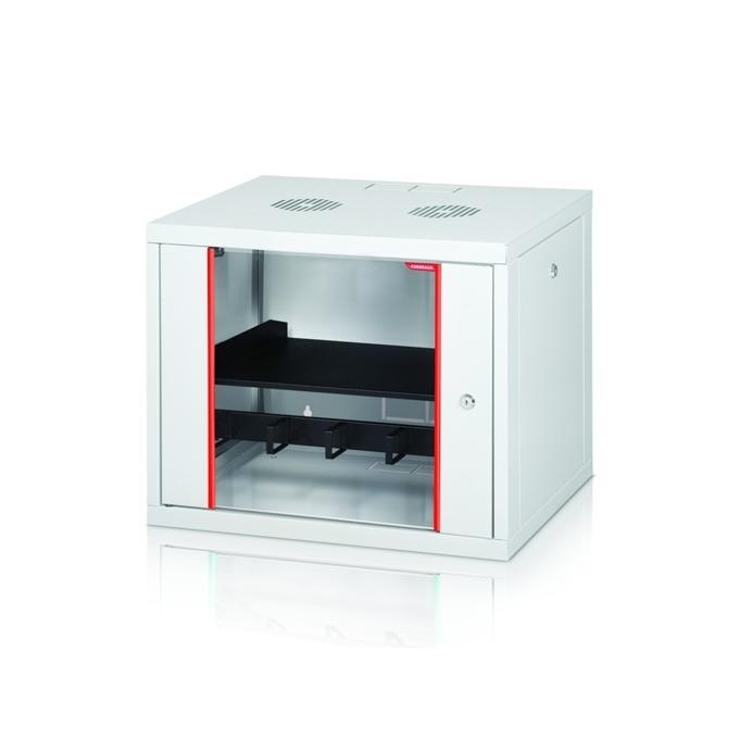 """Комуникационен шкаф Formrack GLD-16U450/ALFA-16U450, 19"""", 16U, 555 x 450 mm, бял image"""