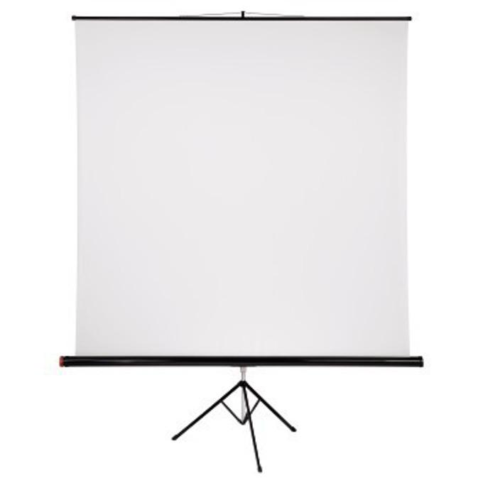 Екран на стойка, 200 x 200 cm, 1:1