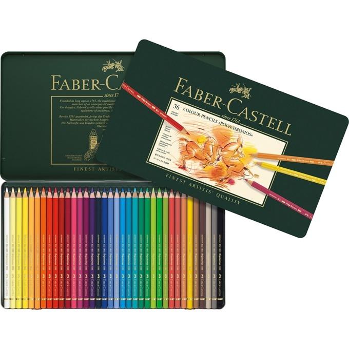 Faber-Castell Polychromos 36 цвята