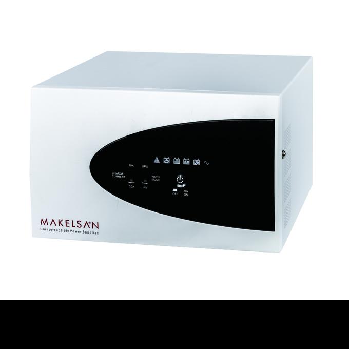 Makelsan Inverter 1000VA/ 800W, 24VDC