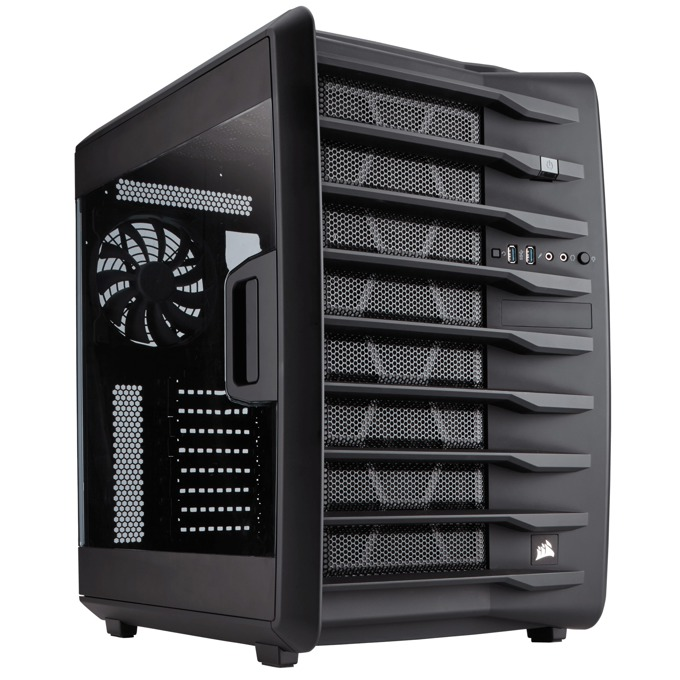 Кутия Corsair Carbide Series Air 740, Mini-ITX/mATX/ATX, 2x USB 3.0, черен, без захранване, по поръчка image