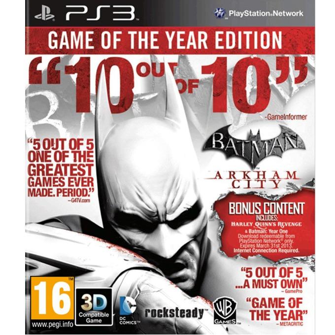 Игра за конзола Batman: Arkham City GOTY, за PlayStation 3 image