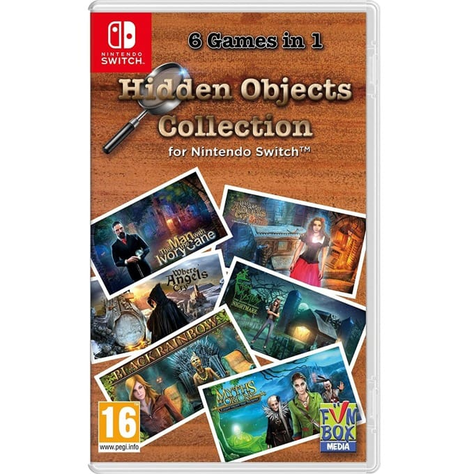 Hidden Objects Collection Nintendo Switch product