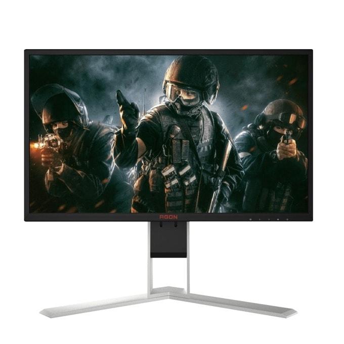"""Монитор AOC AG251FZ, 24.5"""" (62.23 cm) TN панел, Full HD, 1ms, 50 000 000:1, 400 cd/m2, DisplayPort, HDMI, DVI, VGA, USB image"""
