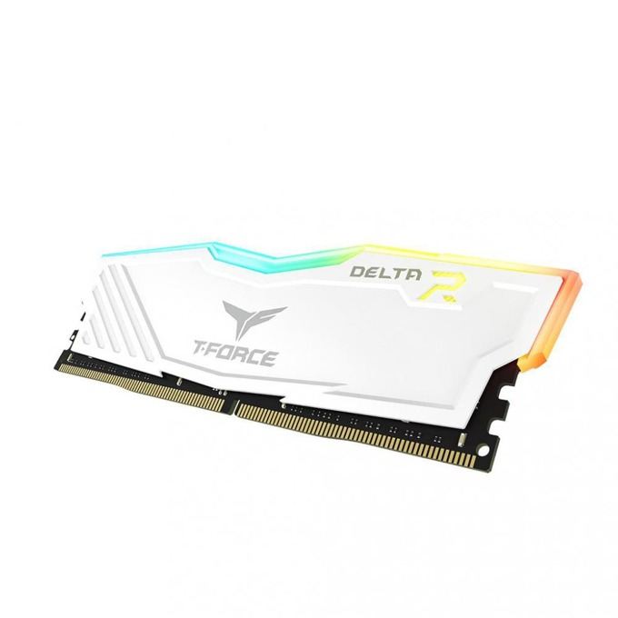Памет 8GB (2x4GB) DDR4 2400 MHz, Team Group DELTA RGB, TF4D48G2400HC15BDC01, 1.2V image