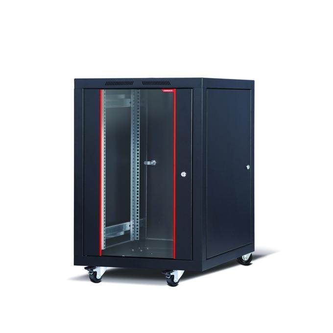 "Комуникационен шкаф Formrack CSM-16U60100, 19"", 16U, 600 x 1000 mm, черен image"
