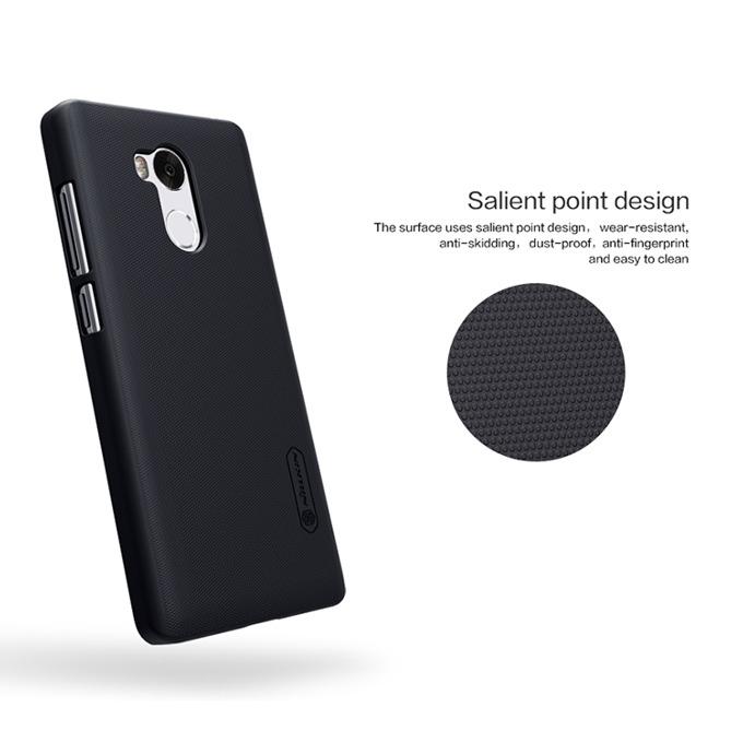 Страничен протектор с гръб за Xiaomi Redmi 4 Prime/Pro, черен image
