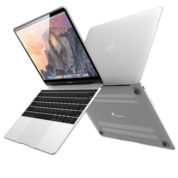 Протектор Devia Grace Shell за MacBook 12, поликарбонатов, прозрачен image