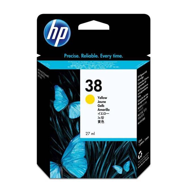 ГЛАВА HEWLETT PACKARD Photosmart Pro B9180 Professional Photo Printer - Yellow Pigment Ink - P№ C9417A - заб.: 27ml. image