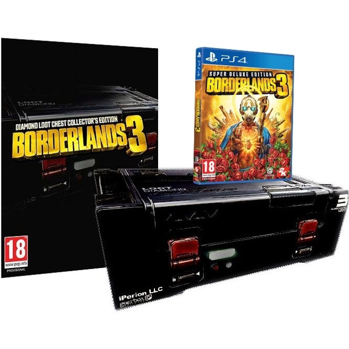 Игра за конзола Borderlands 3 Collector's Edition + Super Deluxe Edition, за PS4 image