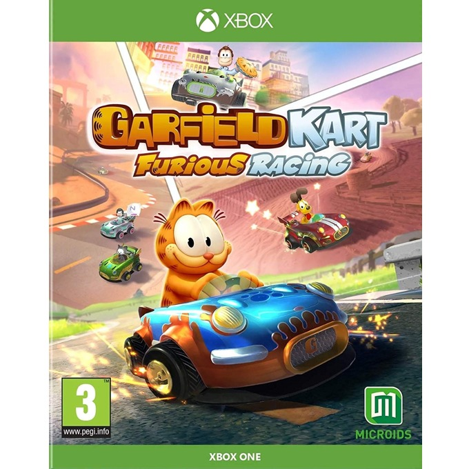 Игра за конзола Garfield Kart: Furious Racing, за Xbox One image