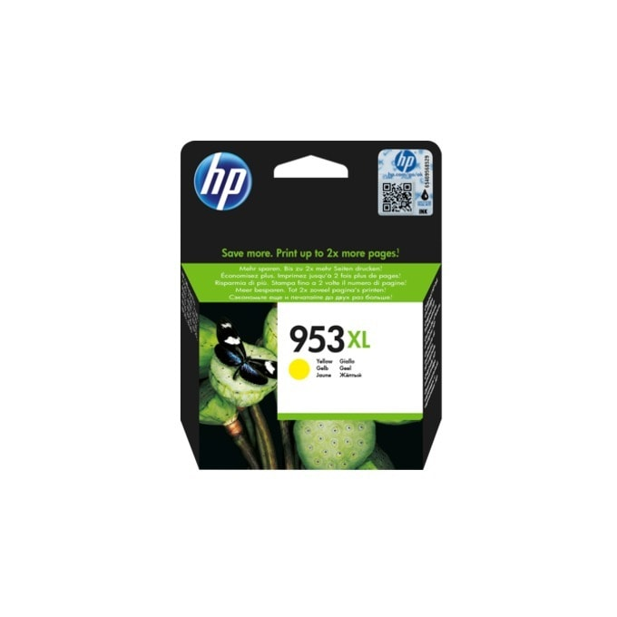 HP 953XL High Yield Yellow Original Ink F6U18AE