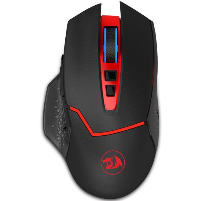 Мишка Redragon Mirage М690, оптична (4800dpi), безжична, геймърска, черна image