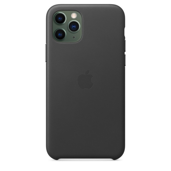 Apple Leather case iPhone 11 Pro black MWYE2ZM/A product