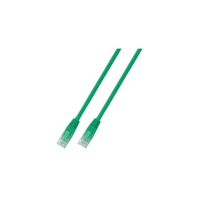 Пач кабел UTP EFB Elektronik, 1m, Cat 5E, пач-кабел, зелен image