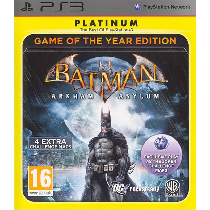 Игра за конзола Batman Arkham Asylum GOTY, за PlayStation 3  image